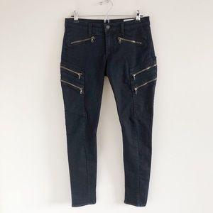rag & bone/JEAN Lariat Skinny Jeans Midnight 28